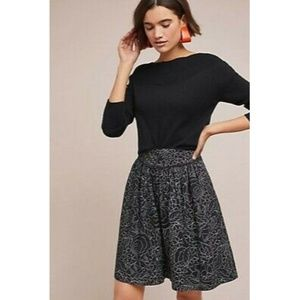 Anthropologie Colloquial A Line Skirt Size 8